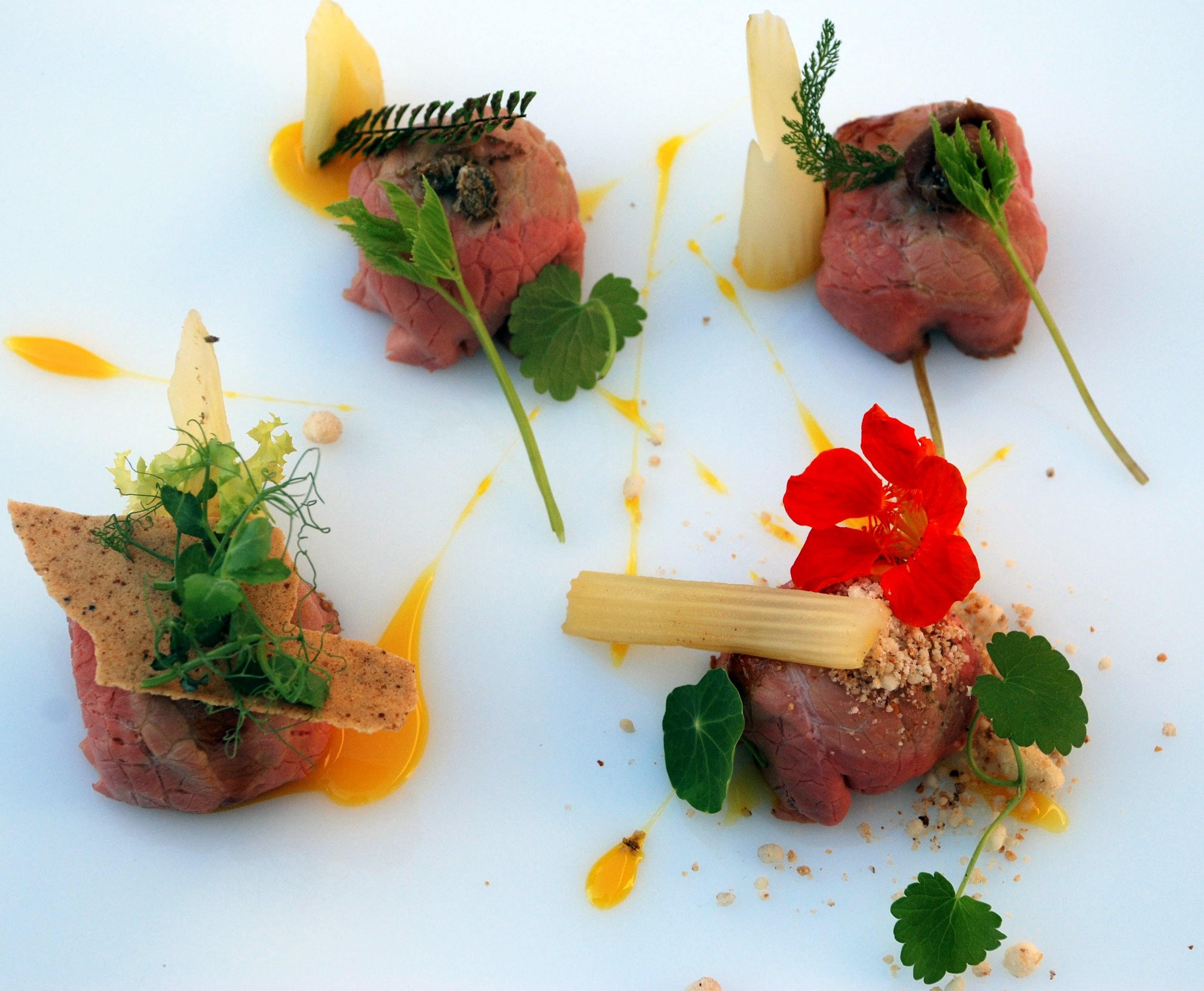 """Una cena """"a pennello"""": cucina e arte si incontrano al Ristorante Les Petites Madeleines"""