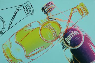 Perrier brinda all'arte di Andy Warhol