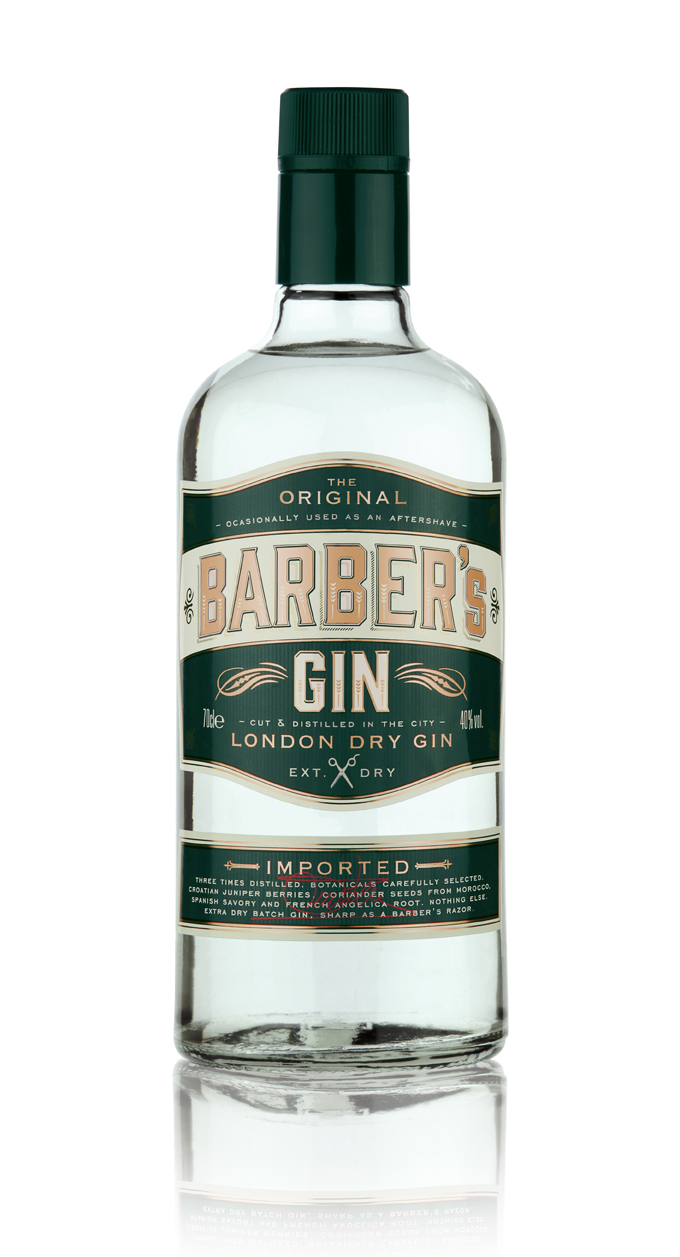 Barber's Gin a casa Sanremo