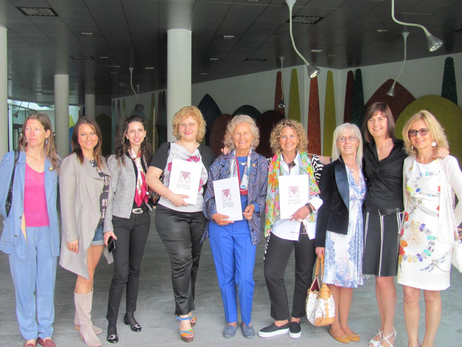 Fuori Expo della Delegazione Lombardia dell'Associazione Le Donne del Vino