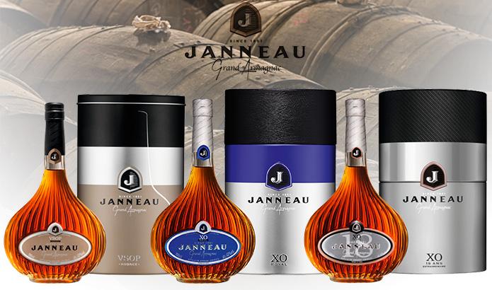 5 Medaglie per l'Armagnac Janneau a San Francisco