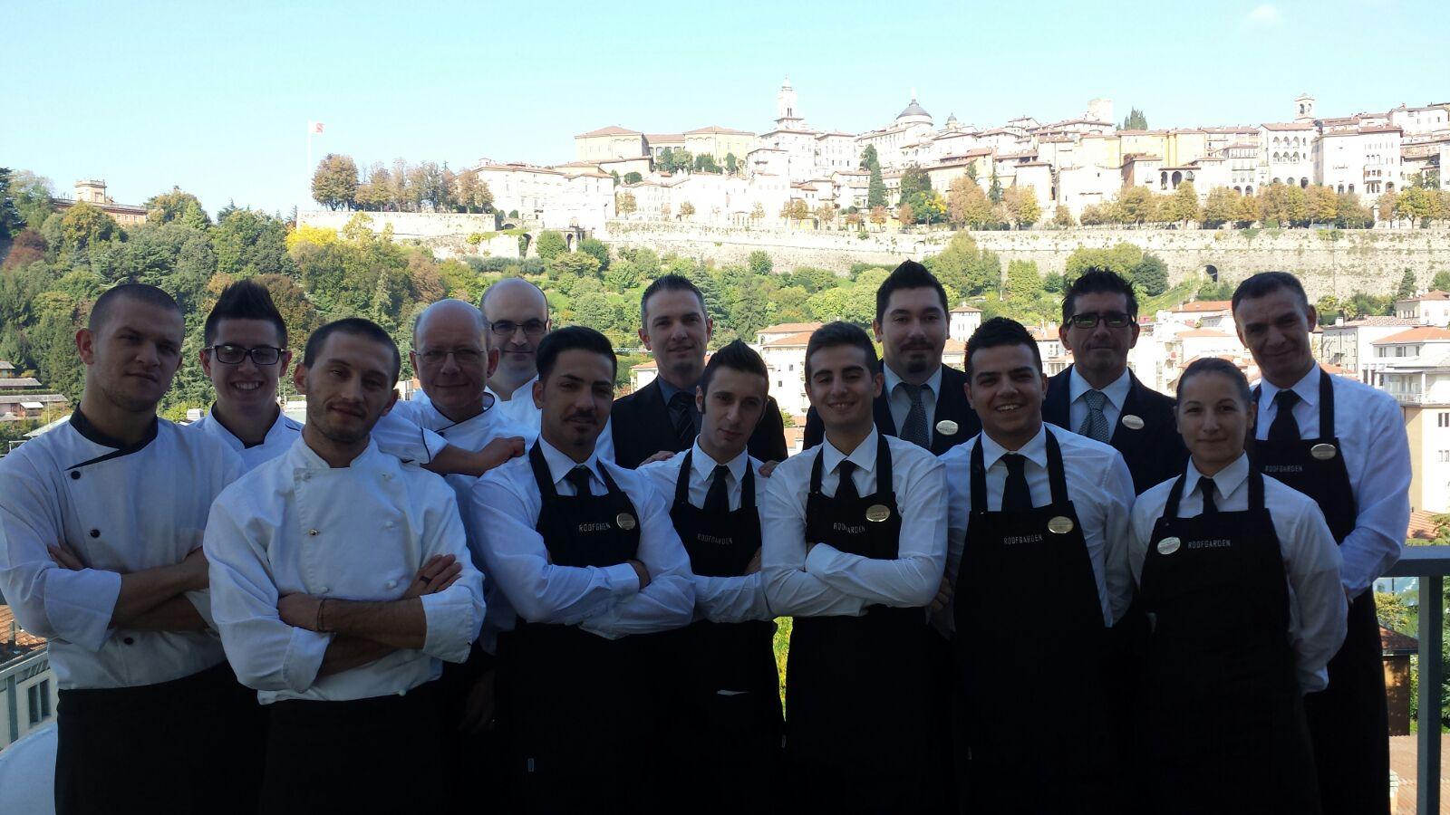 Roof Garden a Bergamo, veduta e gusto a braccetto