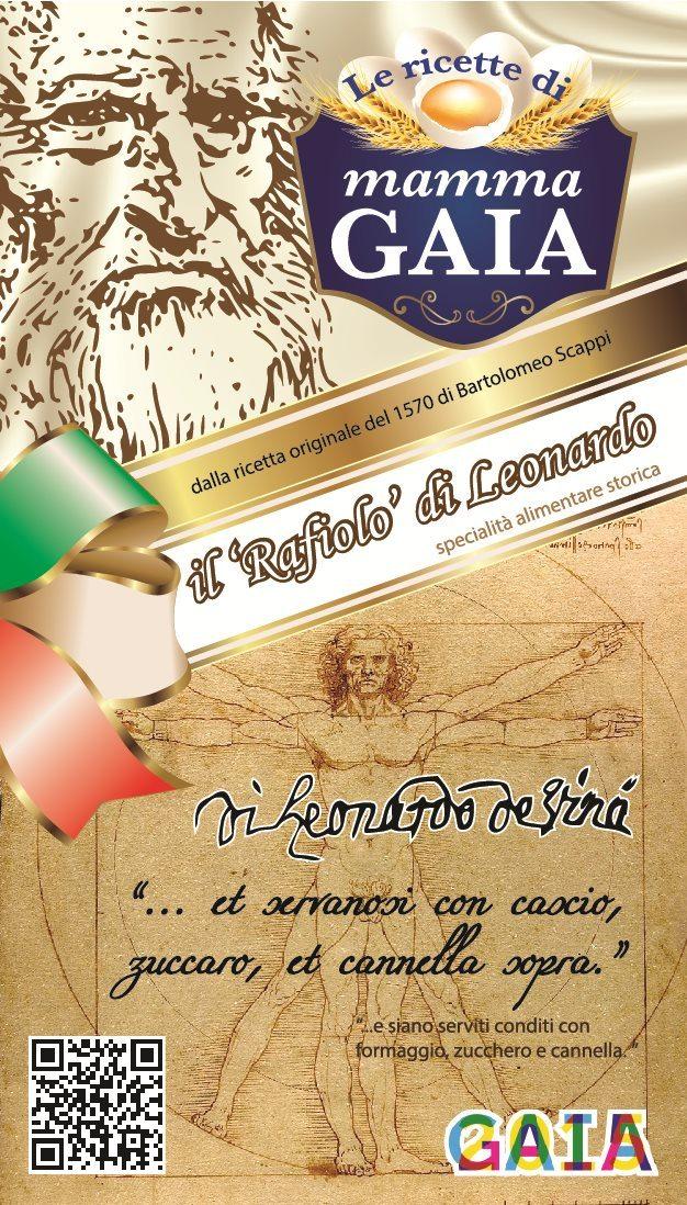 La confezione del Rafiolo di Leonardo
