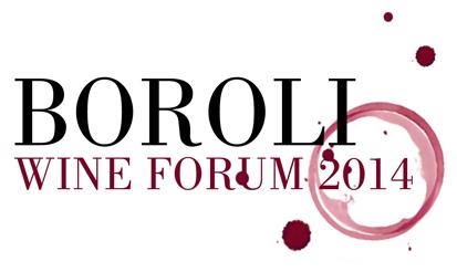 Il logo della manifestazione boroli wine festival del 2014