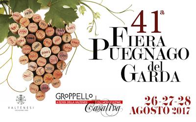Fiera di Puegnago del Garda, dal 26 agosto un weekend con i rossi della Valtènesi