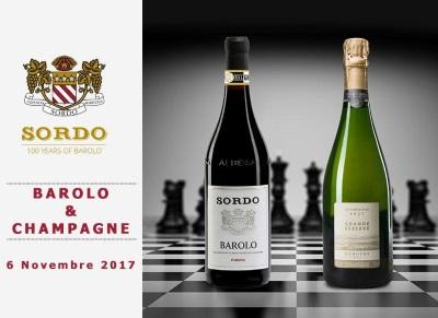 Il Re e La Regina: Barolo&Champagne – grande degustazione alla cantina Sordo