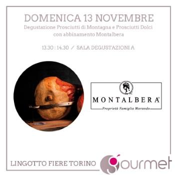 A Lingotto Fiere le Degustazioni Montalbera – 13-15 novembre