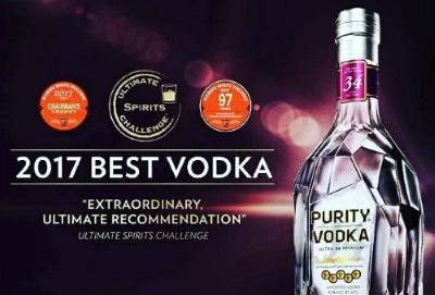 Trionfo per Purity Vodka al 2017 Ultimate Spirits Challenge