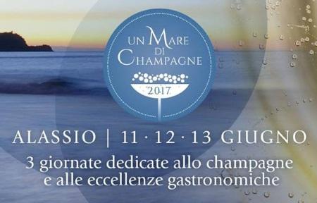 """V Edizione di """"Un Mare di Champagne"""" ad Alassio, 11-13 giugno"""