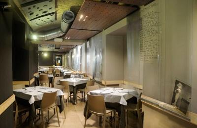 Il ristorante sala interna