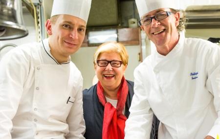 Irina Freguia conferma al Vecio Fritolin lo chef Pierluigi Lovisa, al suo fianco Raffaele Minute