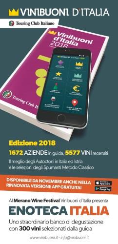 La Guida Vinibuoni d'Italia verrà presentata l'11 novembre al Merano WineFestival