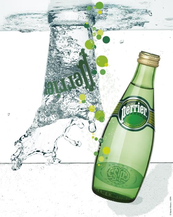 Perrier rinnova i suoi promozionali