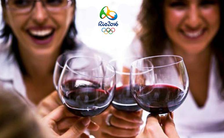 Il vino italiano protagonista a Rio de Janeiro durante le prossime Olimpiadi