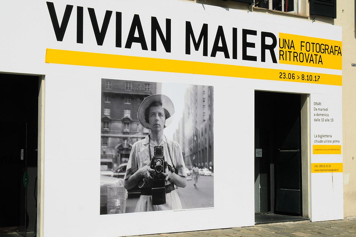 Si sta svolgendo a Genova, presso Palazzo Ducale, un'interessante mostra di fotografie di Vivian Maier.