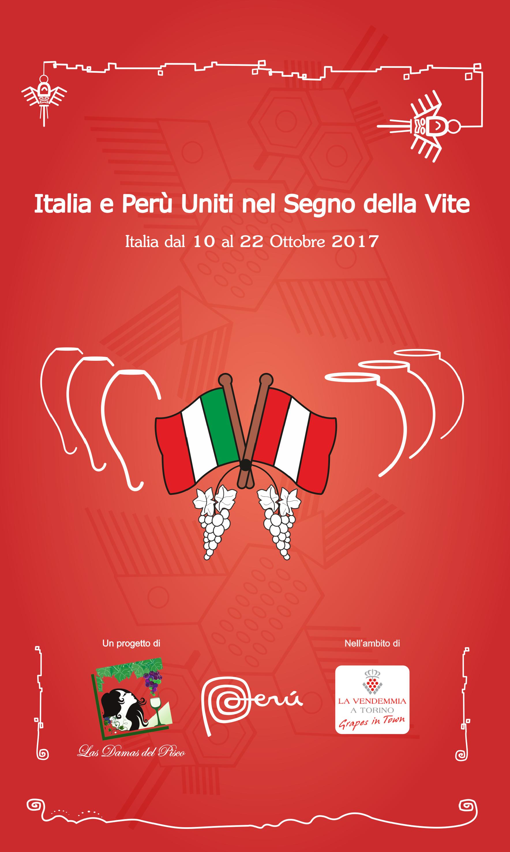 Italia Perù uniti nel segno della vite!