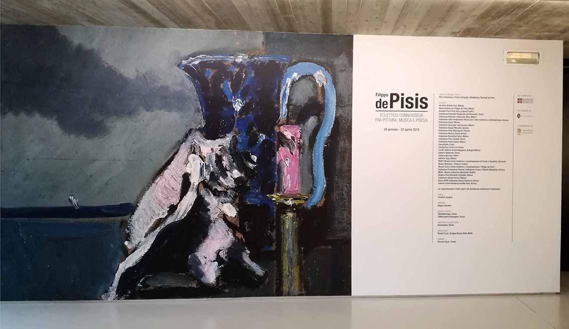 Filippo de Pisis. Eclettico connoiseur fra pittura, musica e poesia