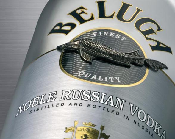 Grande campagna pubblicitaria per Vodka Beluga