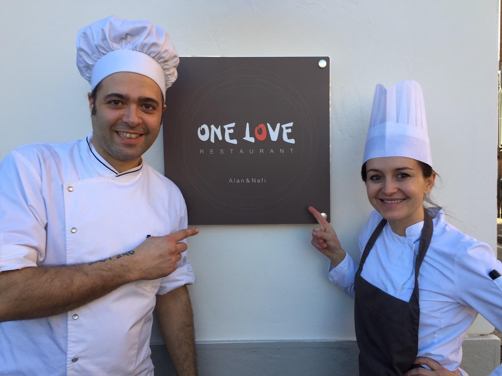Nuovo a Bergamo: One Love Restaurant