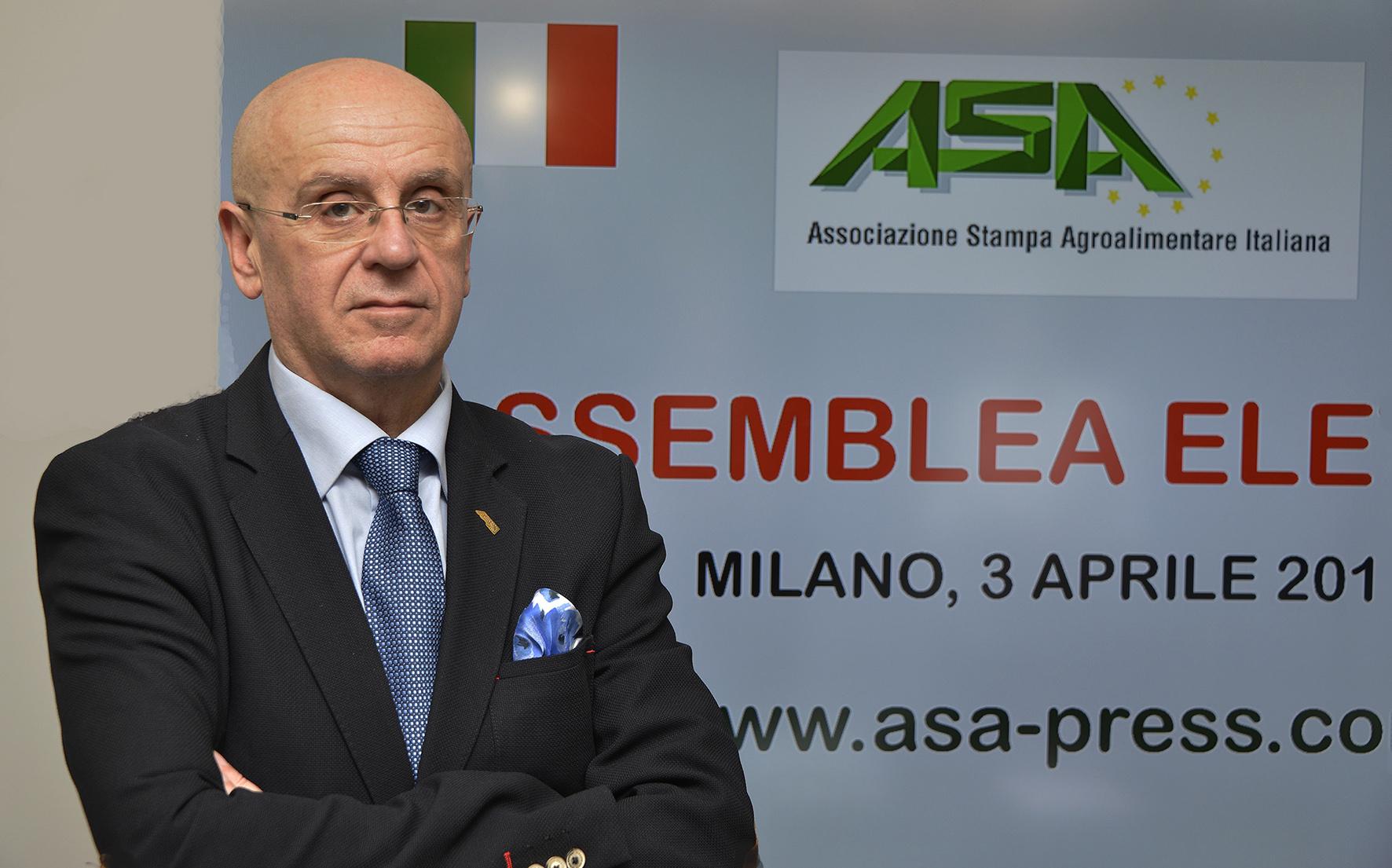 Roberto Rabachino rieletto alla Presidenza Nazionale ASA