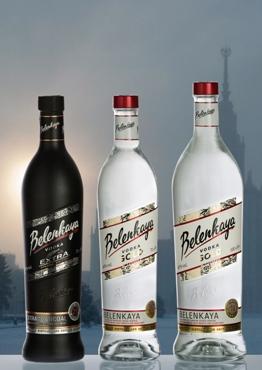 Rinnova la sua gamma la Vodka russa Belenkaya