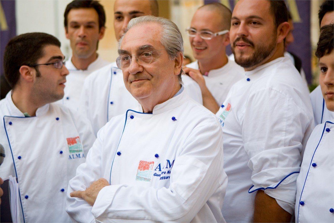 ALMA, la Scuola Internazionale di Cucina Italiana, ricorda Gualtiero Marchesi