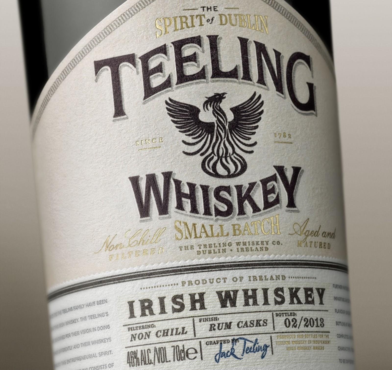 Bottiglia di Whisky Teeling
