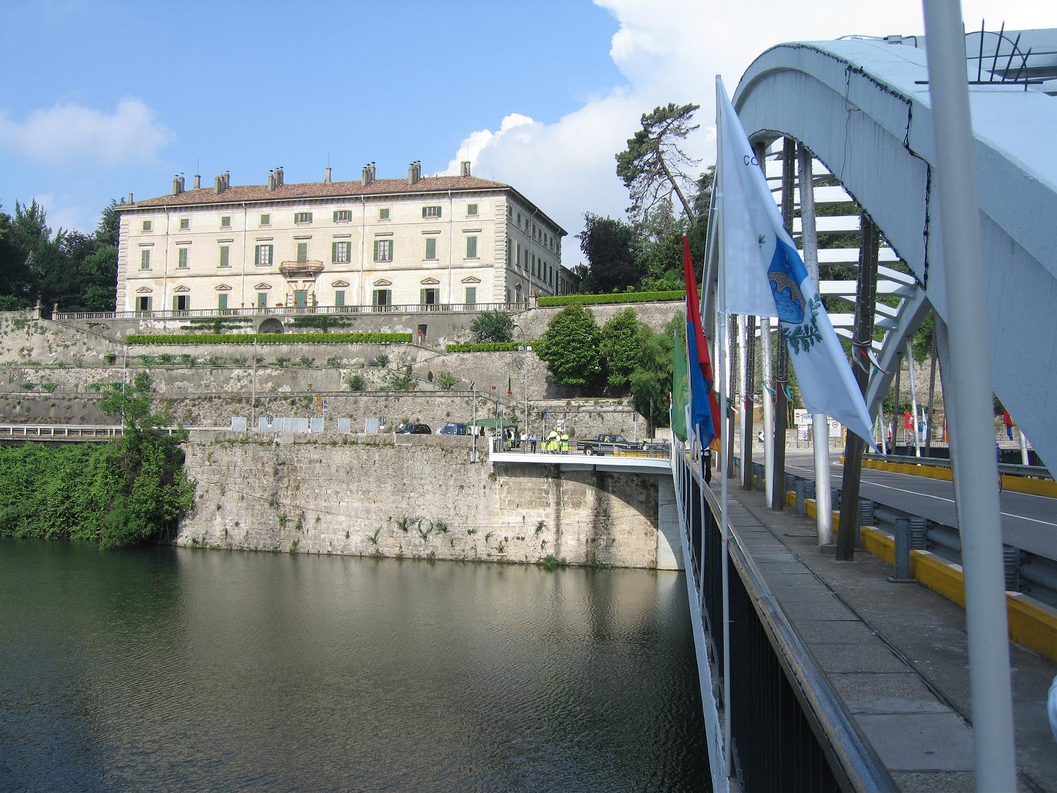 Villa Melzi d'Eril dove Leonardo soggiornò per circa tre anni