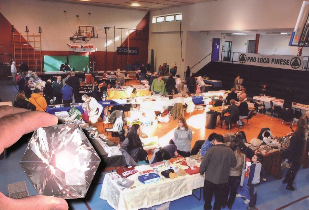 A Pino Torinese (TO)  la 17° edizione della mostra dei minerali e delle gemme