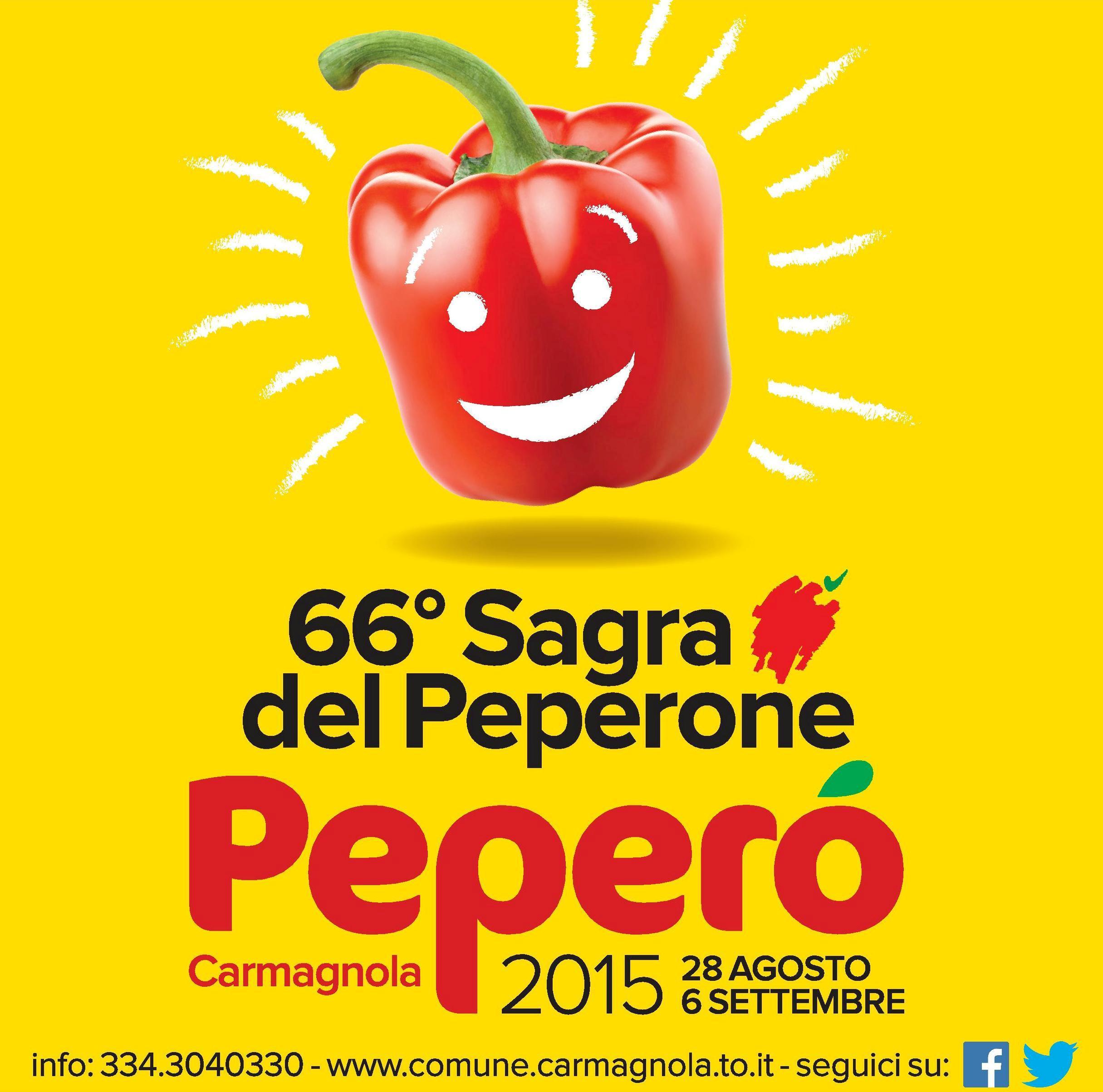 """""""Peperò"""" a Carmagnola (TO) dal 28 agosto al 6 settembre 2015"""