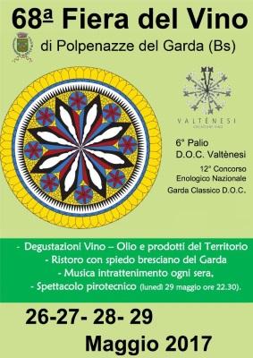 68esima edizione di Polpenazze Fiera: vino, sapori e tradizioni per celebrare il gusto del Garda