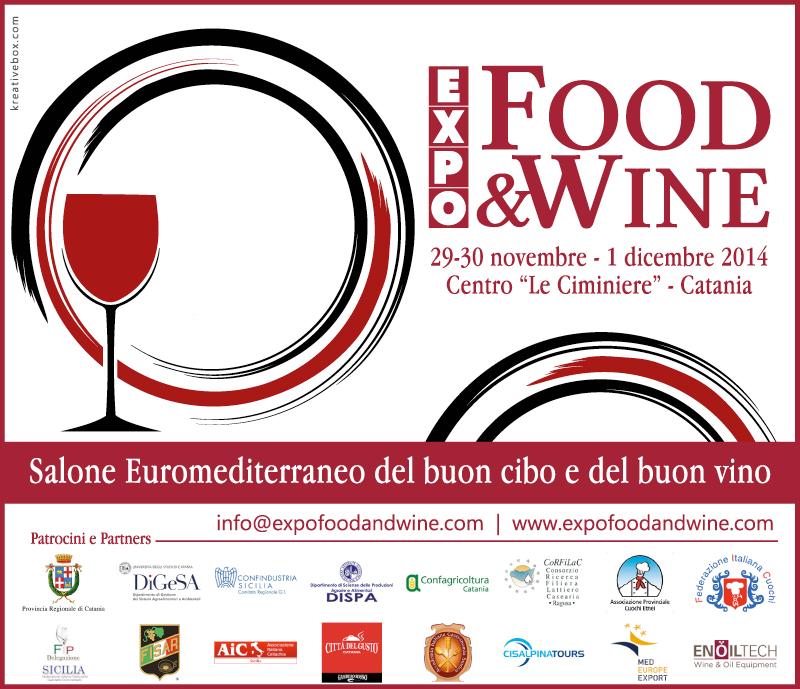 "locandina manifestazione ""Expo Food and Wine"""