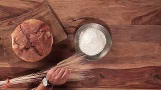 Il pane si fa con la farina