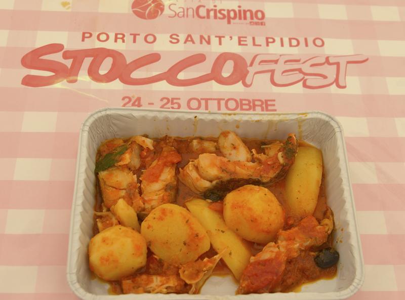2 quintali di stoccafisso al 1° Stoccofest di Porto San Elpidio