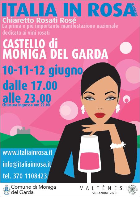 Italia in Rosa da record: 130 cantine e 170 rosé dal 10 al 12 giugno sul lago di Garda