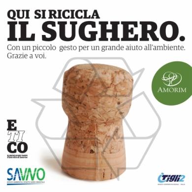 La virtù infinita di ETICO: dal riciclo dei tappi usati, Amorim Cork Italia fa rinascere il sughero come materia prima assoluta