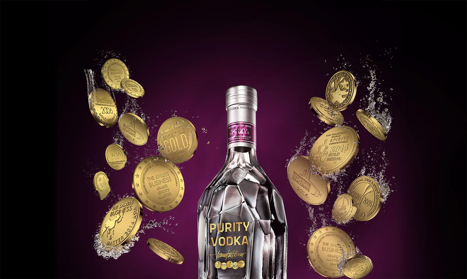Purity Vodka conquista la 100ma medaglia d'oro!