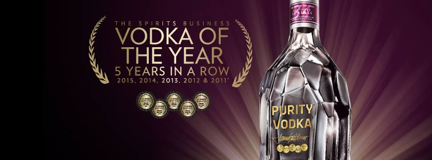 Per la 5° volta consecutiva i riflettori si accendono sulla Purity Vodka!!