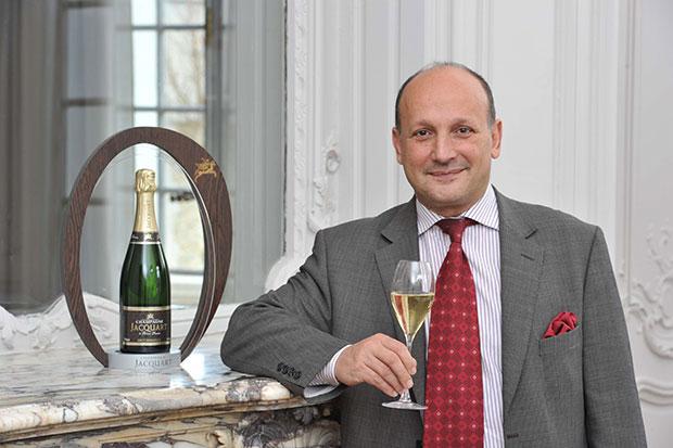Patrick Spanti, Direttore Export della Maison Jacquart