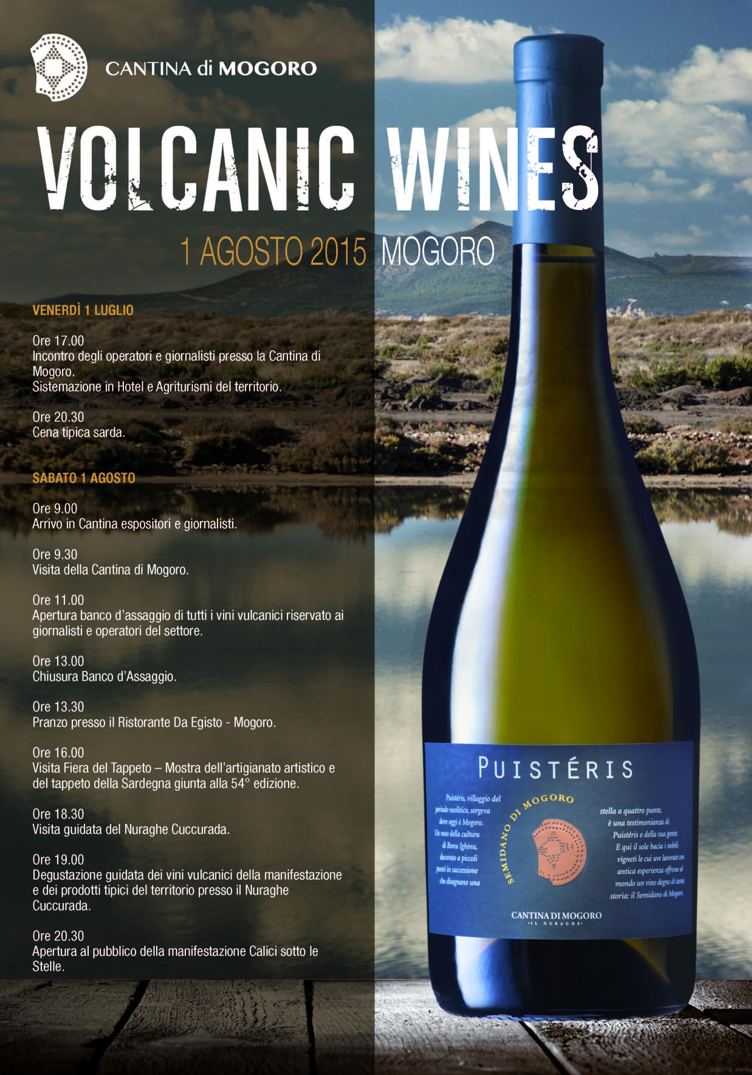 Sardegna, Pantelleria e Sicilia, teatri delle nuove iniziative promozionali dell'associazione che promuove i vini da suolo vulcanico che rinfrescano l'estate.
