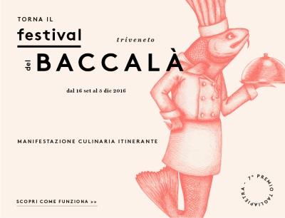 Dal 16 settembre al 5 dicembre 2016 il 7° Festival Triveneto del Baccalà – Trofeo Tagliapietra