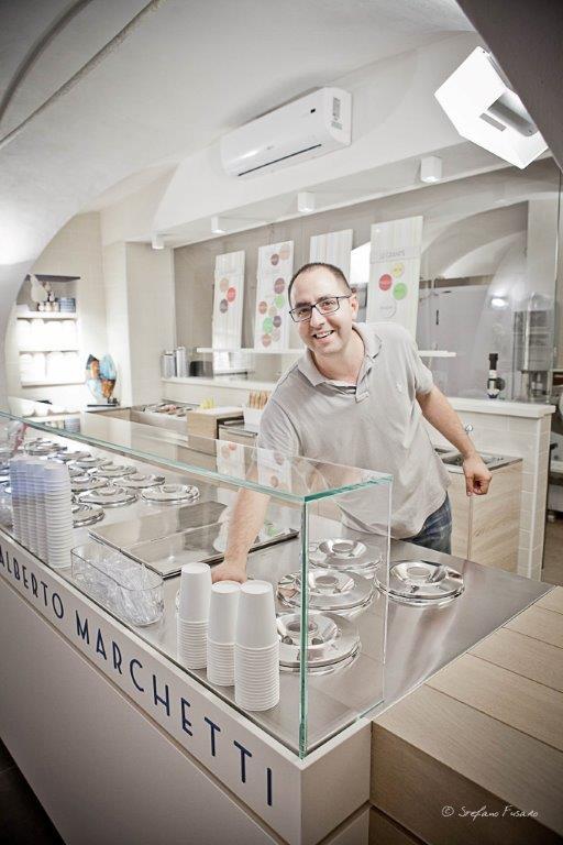 La gelateria Alberto Marchetti