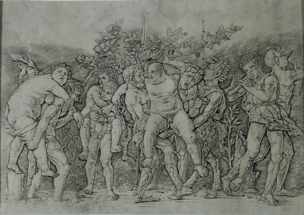 MUVIT - Andrea Mantegna, Baccanale con Sileno, 1470 ca.