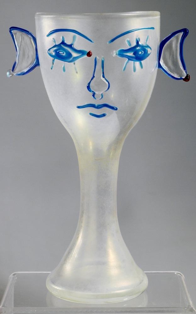 MUVIT - Jean Cocteau Vaso antropomorfo 1963