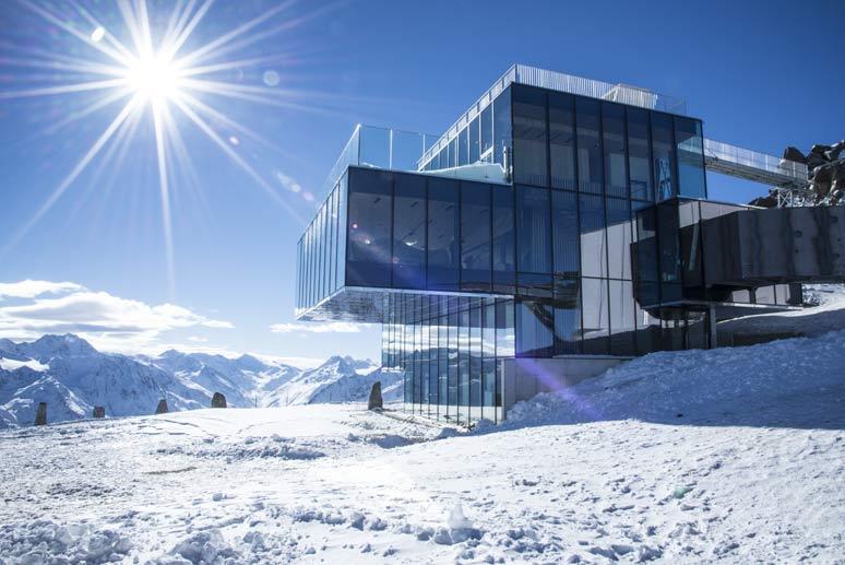 ICE-Q il nuovo ristorante sulle piste austriache