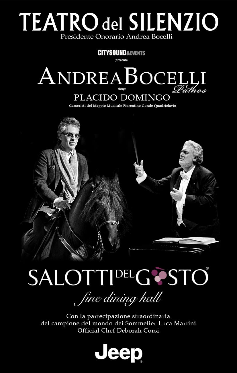 I Salotti Del Gusto.Salotti Del Gusto Celebra Il Maestro Bocelli Turismo Del Gusto