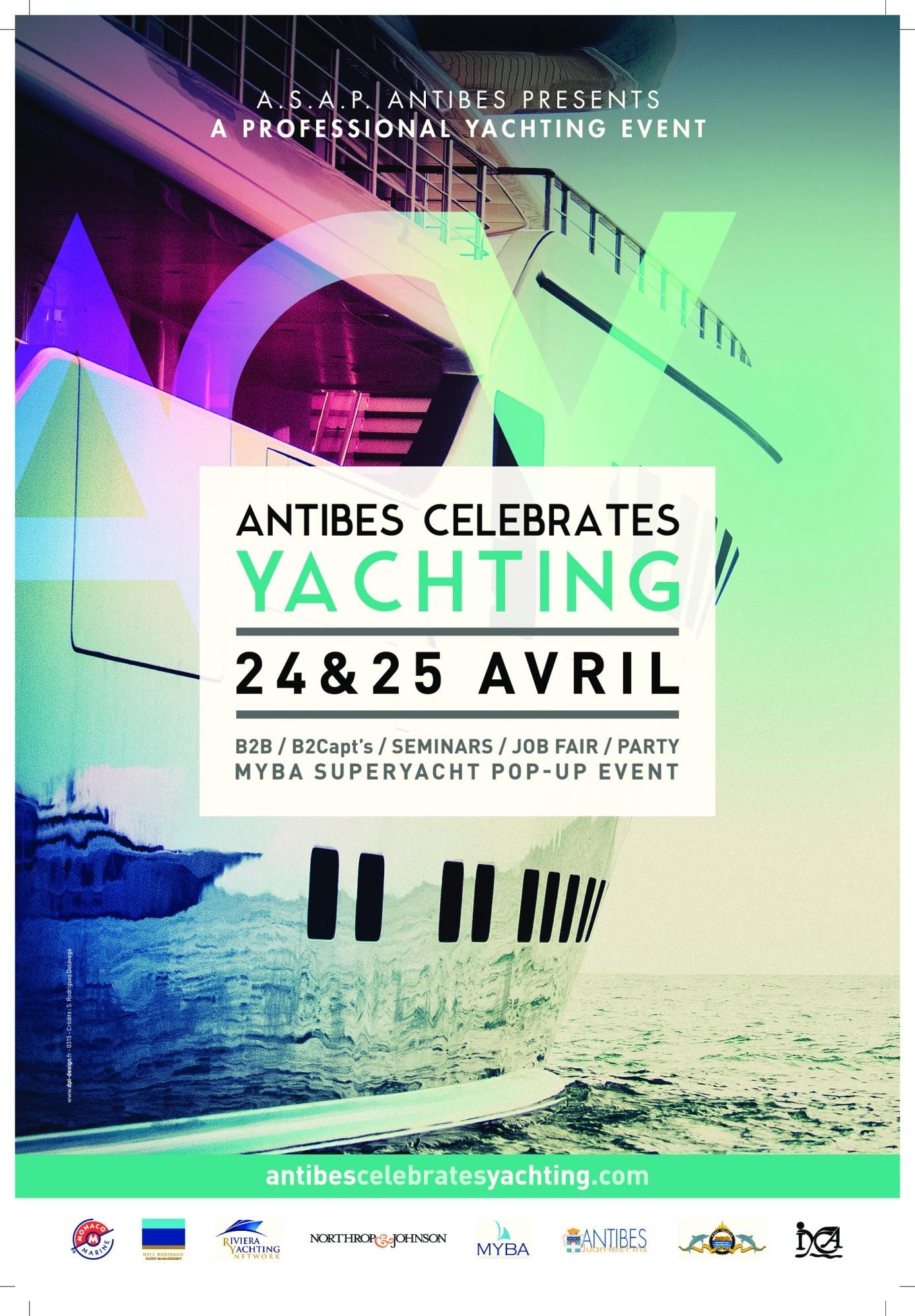 Il primo salone nautico internazionale della stagione si svolge come sempre ad Antibes