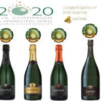 Quattro Medaglie d'oro per Lantieri  al prestigioso The Champagne & Sparkling Wine World Championship 2020