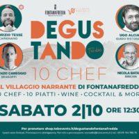 10 Chef al Villaggio Narrante di Fontanafredda