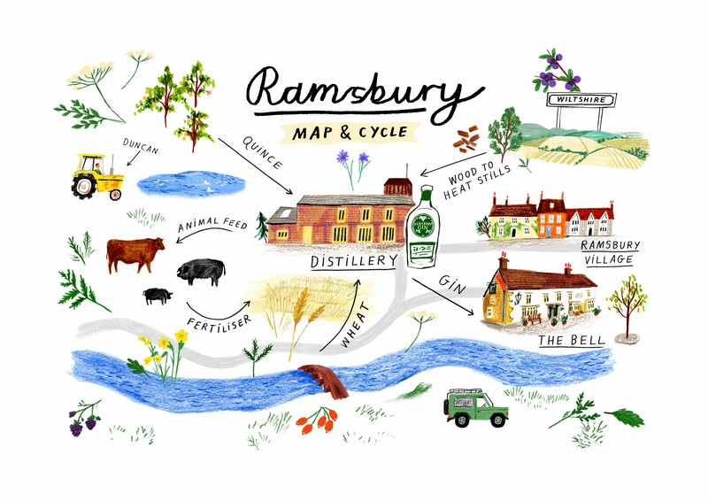 Ramsbury Mappa grafica